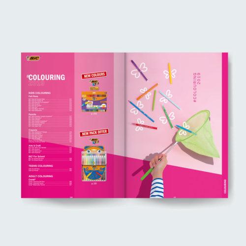 Maquette intérieures catalogue produits