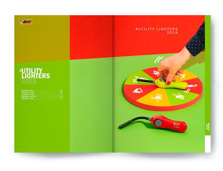 Catalogue produit studio photo