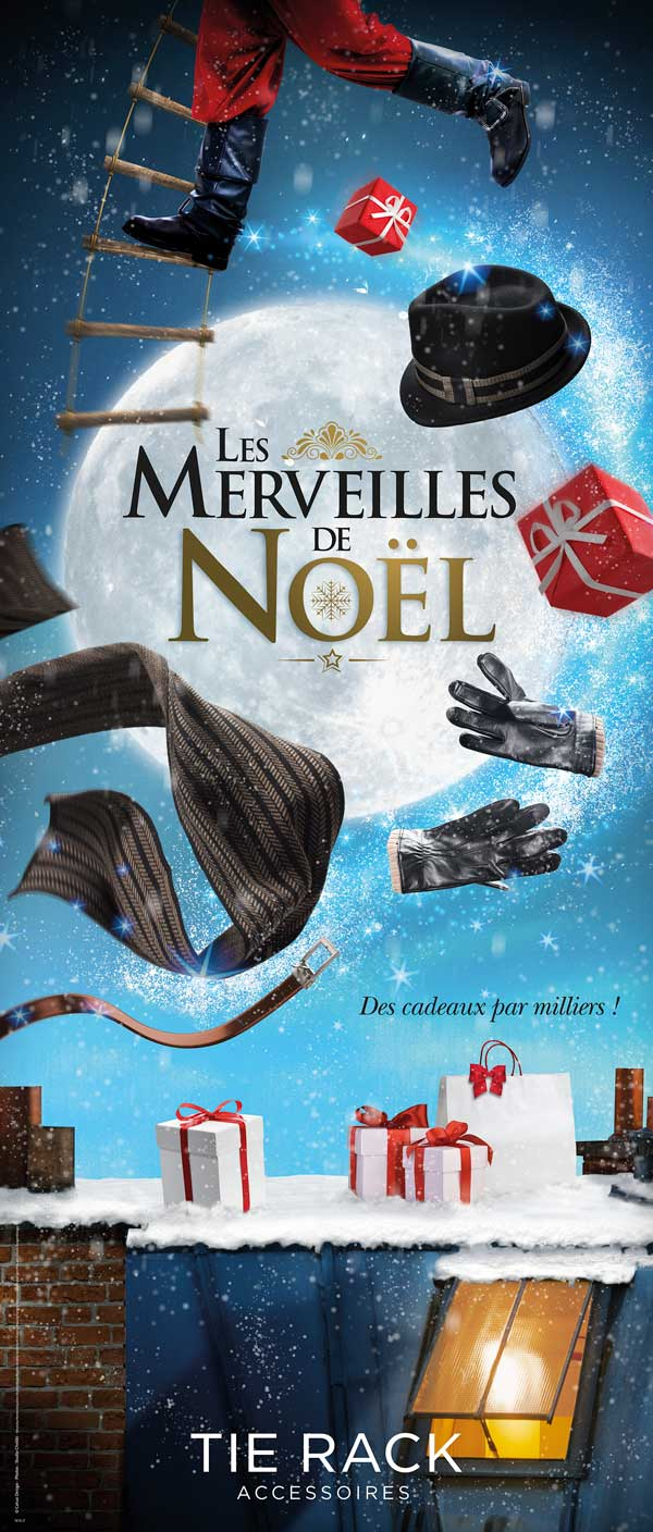 Photomontage visuel noel
