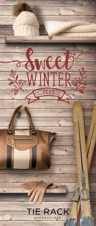 Visuel affiche mode hiver