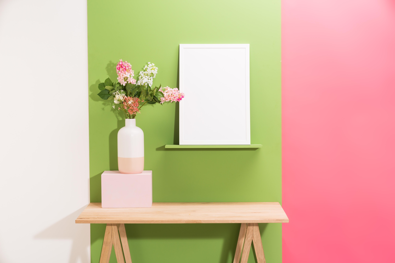 Photo d'ambiance colorée